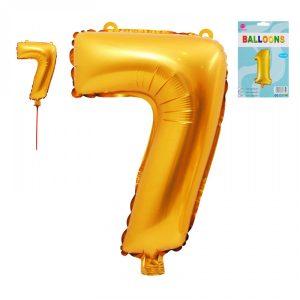 Фолиев Балон Цифра 7
