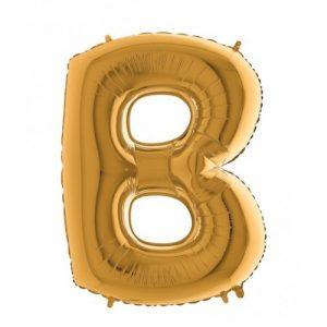 "Фолиев Балон буква ""B"""