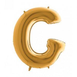 "Фолиев Балон буква ""G"""