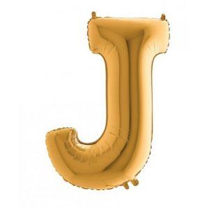 """Фолиев Балон буква """"J"""""""