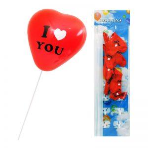"""Балони """" I love you"""""""