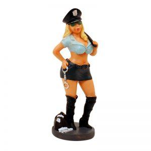 Статуетка Полицайка с белезници