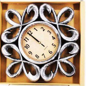 Стенен часовник с бронзов и меден ефект