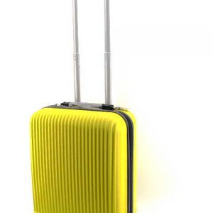 Куфар PVC 50 см. в жълто