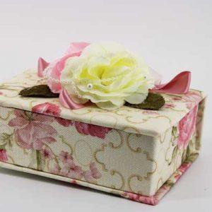 Кутия за бижута с цветя