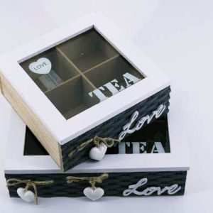 """Кутия за Чай """" Love """""""