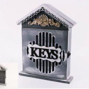 """Кутия за ключове """"Къщичка"""" с  надпис Keys"""