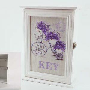 Кутия за ключове с лавандула