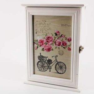 Кутия за ключове с рози