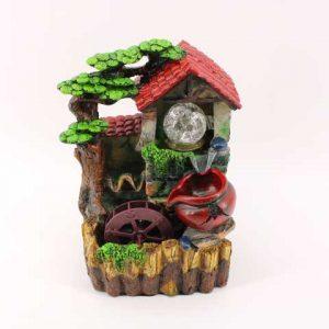 Декоративен фонтан-Къщичка с тепавица