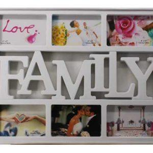 """Колаж от 10 броя снимки """"Family"""""""