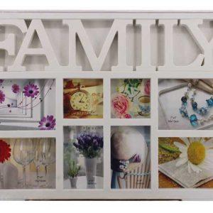 """Колаж """"Family"""" от 8 броя снимки"""