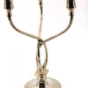 Метален свещник тройка - 33 см.