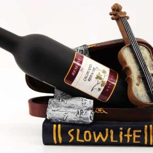 Поставка за бутилка-Цигулка