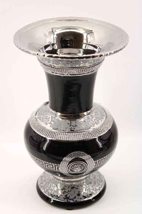 Ваза в черно и сребро