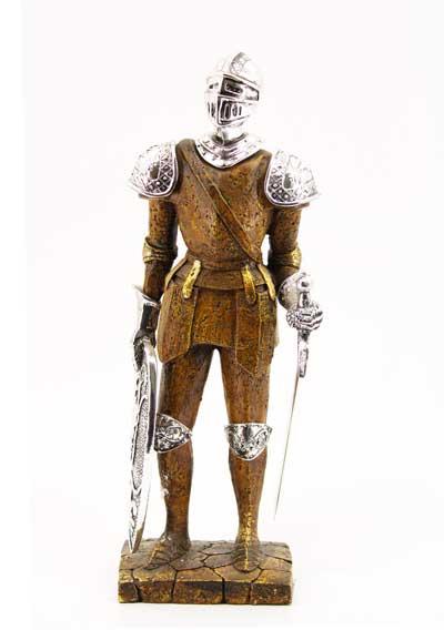 """Сувенир - """"Безстрашен рицар с меч в ръка"""""""