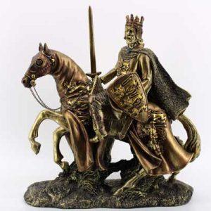 """Сувенир - """"Воин на кон"""""""