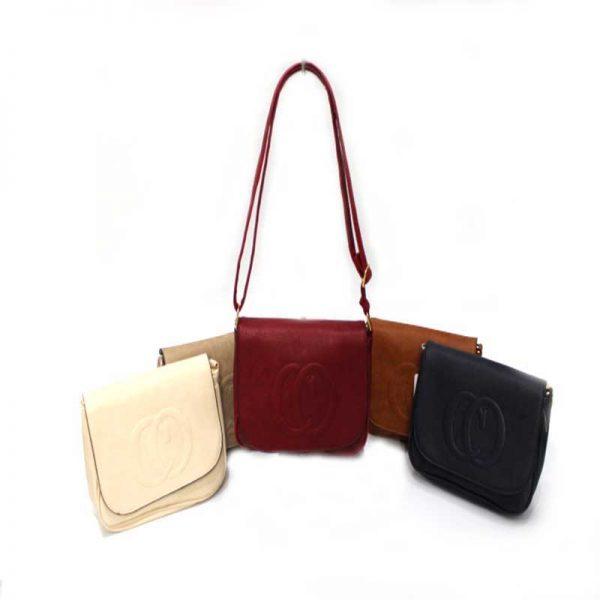 Дамска чанта за през рамо, тип преметка 30061
