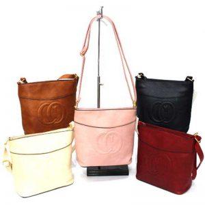 Малка дамска чанта с дълга дръжка 68018