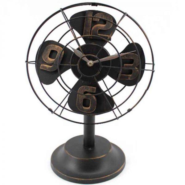 """Настолен часовник """"Вентилатор"""""""