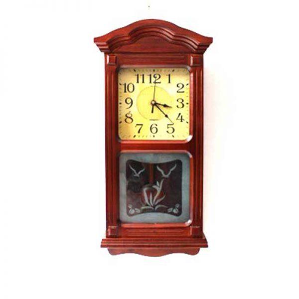 Стенен дървен часовник с махало