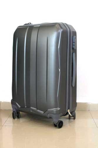 Куфар PVC в сиво