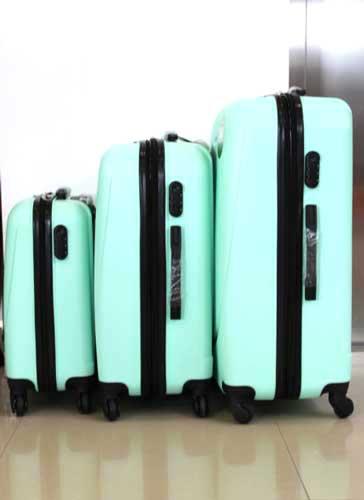 Куфар PVC 360 `  в свежо зелено
