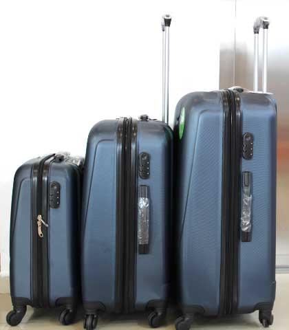 Куфар PVC 360 `  в тъмно синьо