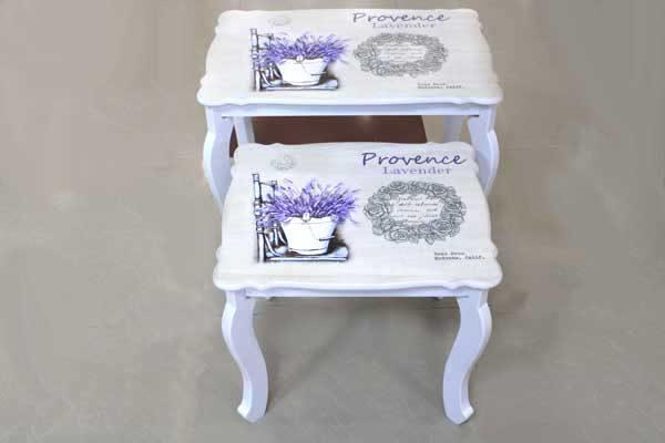 Декоративна маса с Лавандула