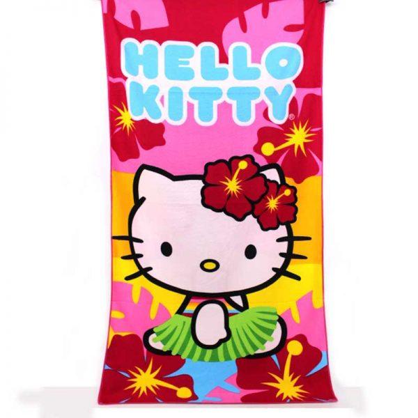 """Плажна хавлия """"Hello Kitty"""""""