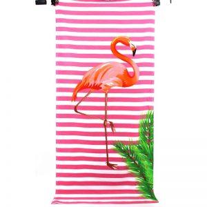 "Плажна хавлия ""Фламинго"""