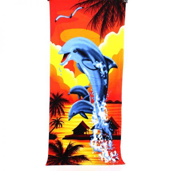 """Плажна хавлия """"Делфини"""""""