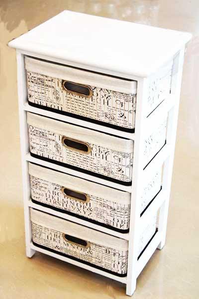 Шкаф с 4 чекмеджета