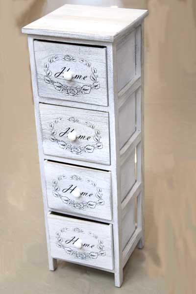 Шкаф Home с 4 чекмеджета