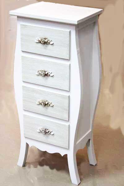 Шкаф с 4 чекмеджета в бароков стил