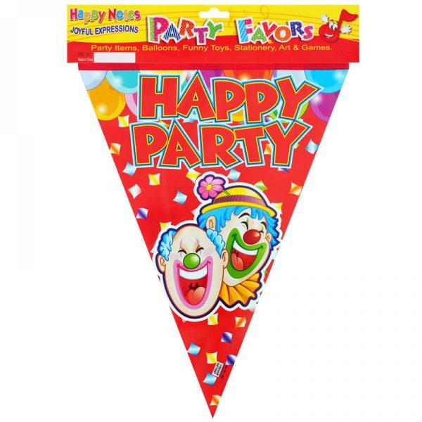 Парти гирлянд - знаменца Happy Party