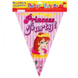 Парти гирлянд - знаменца Princess Party