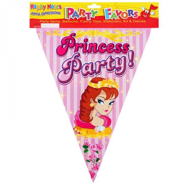 Парти гирлянд - знаменца Princess Party