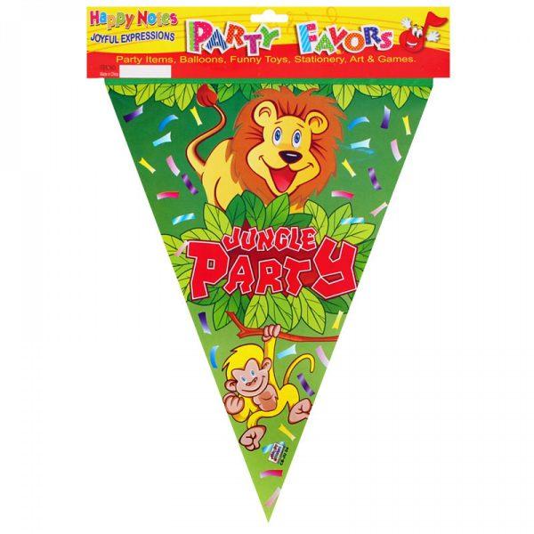 Парти гирлянд - знаменца Jungle Party