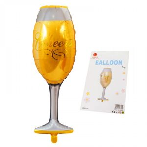 Фолиев балон - шампанско