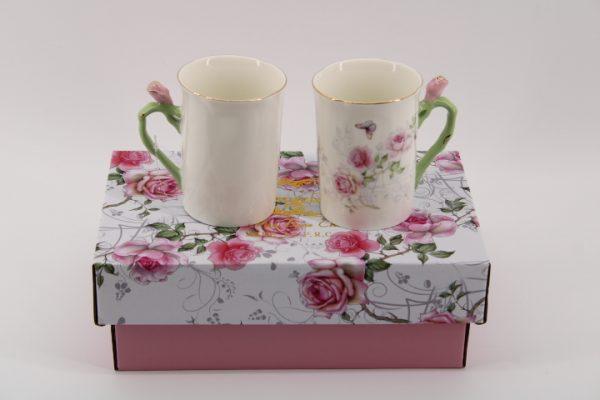 Чаши за мляко - двойка в кутия