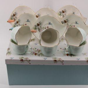 Комплект кафе с 3D цветчета.