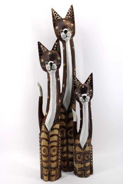 Дървени котки - 3-ка