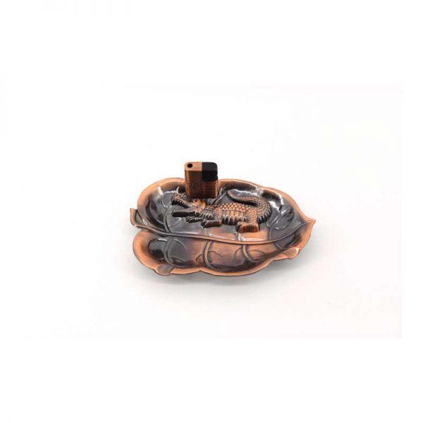 Метален Пепелник със запалка