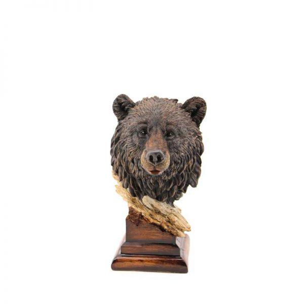 Декоративна глава на мечка