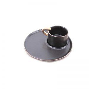 Сет за кафе от 2 части - черно
