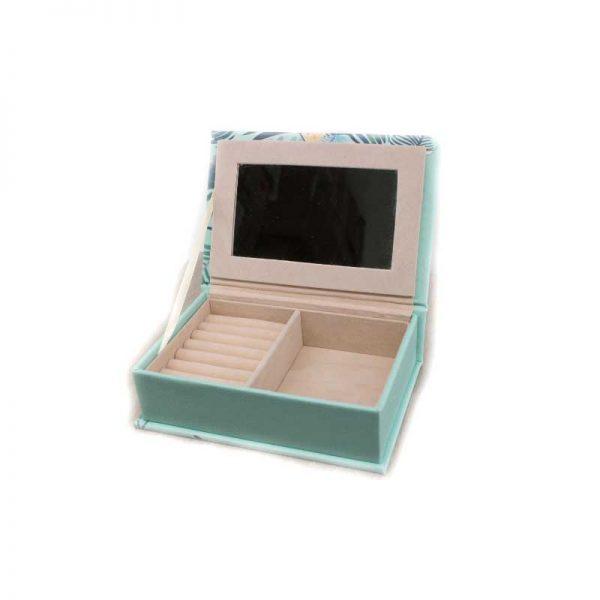 """Кутия за бижута """" Фламинго """" - книга"""