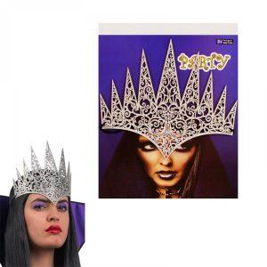 Парти корона Кралица - сребро