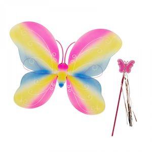 Парти крила Пеперуди -розови
