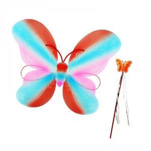 Парти крила Пеперуди -червени